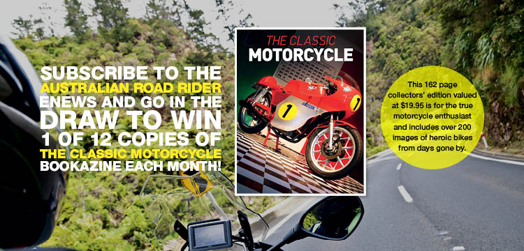 The Classic Motorcycle Bookazine Competition