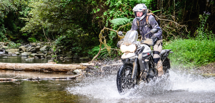 Tiger 800XCx: the best middle-weight adventure bike