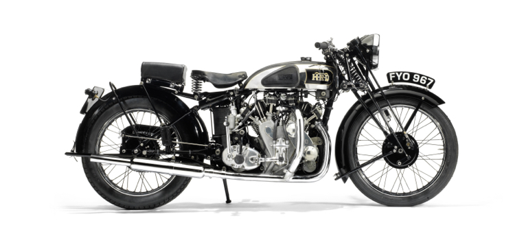 This Vincent-HRD sold for $535,000 at the Bonhams auction