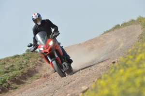 The Multistrada extends sports-touring rides onto dirt roads with confidence