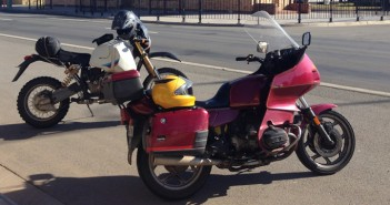 Two perfectly normal rides reflect on each other's abnormalities