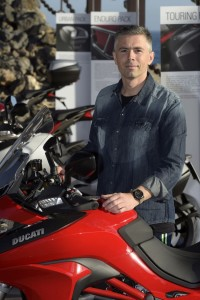 Marco Sairu, head of Ducati's engine project management