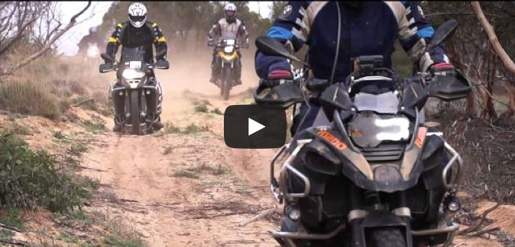 BMW GS Safari Enduro