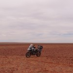 Big sky country: Wide open space is part of the appeal and the danger of outback riding.