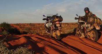 BMW GS in SImpson Desert
