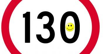 130km/h speed limit