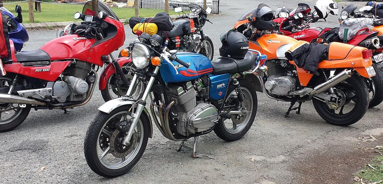 Club Laverda Qld hosts all brands for its Councours