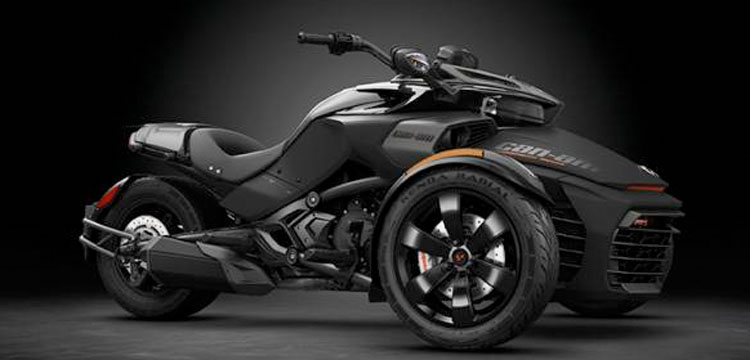 Can-Am Spyder F3 S Triple Black