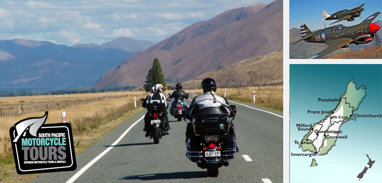 Ride New Zealand with South Pacific Motorcycle Tours and Australian Road Rider