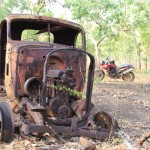 Theres plenty of history out in Kakadu ... and some of it will stay that way
