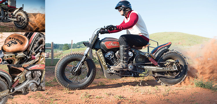 Indian Scout hillclimb