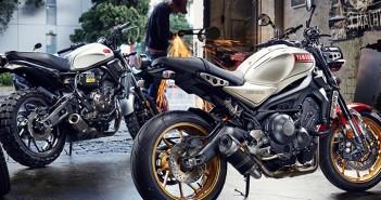 Yamaha XSR Throttle Roll