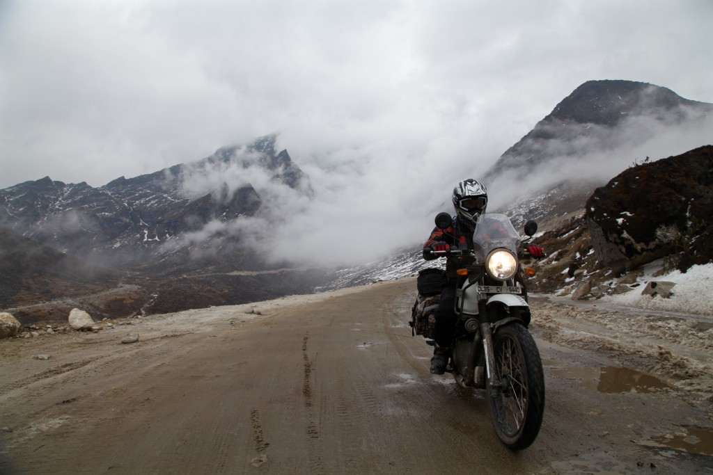 Leaving Sela Pass