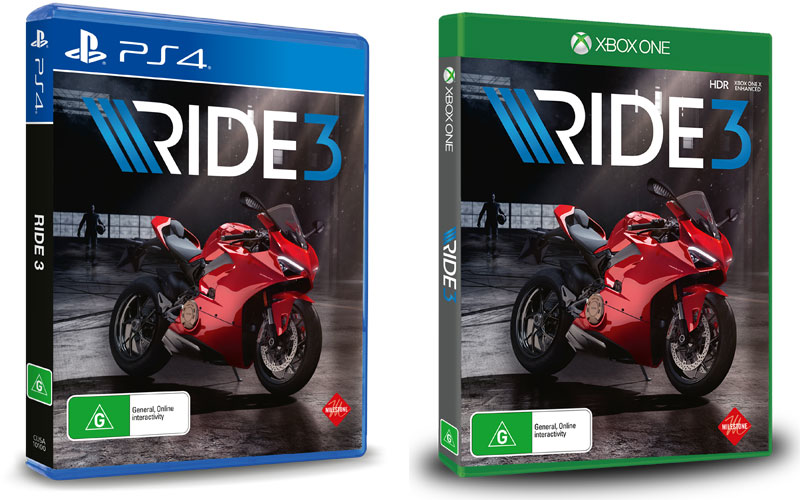 RIDE 3 GIVEAWAY!