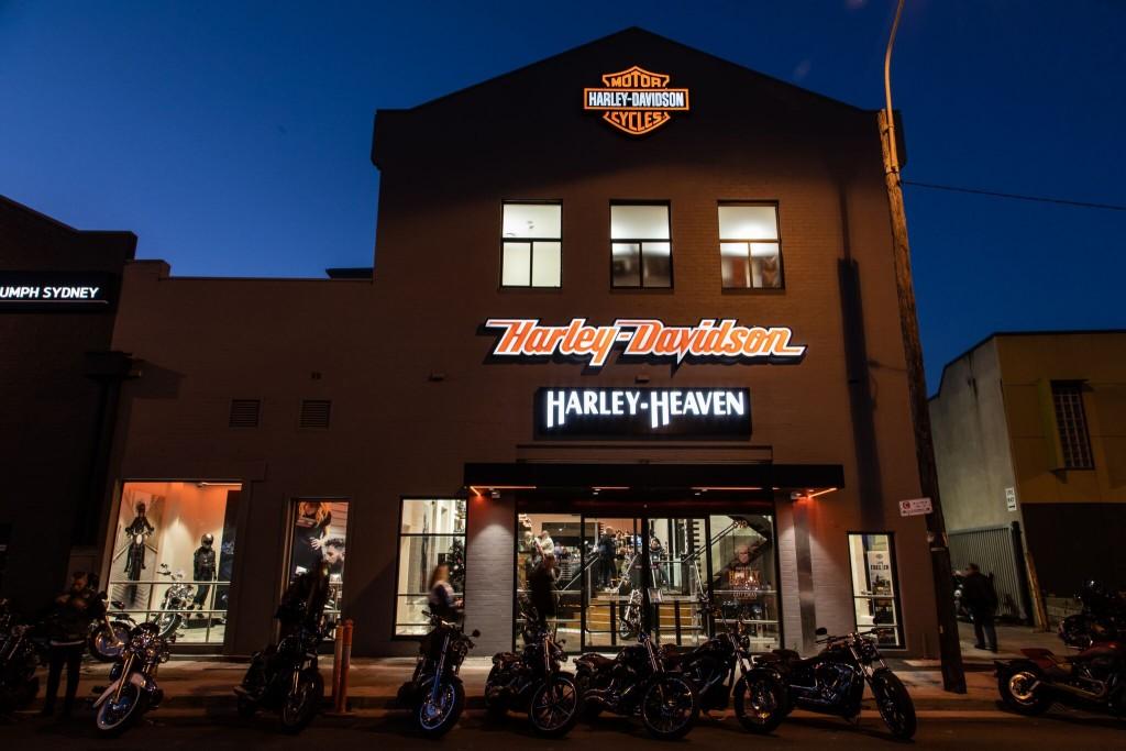 Harley-Heaven Sydney storefront